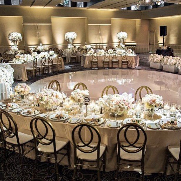 have you thought of arranging a room around a round dance