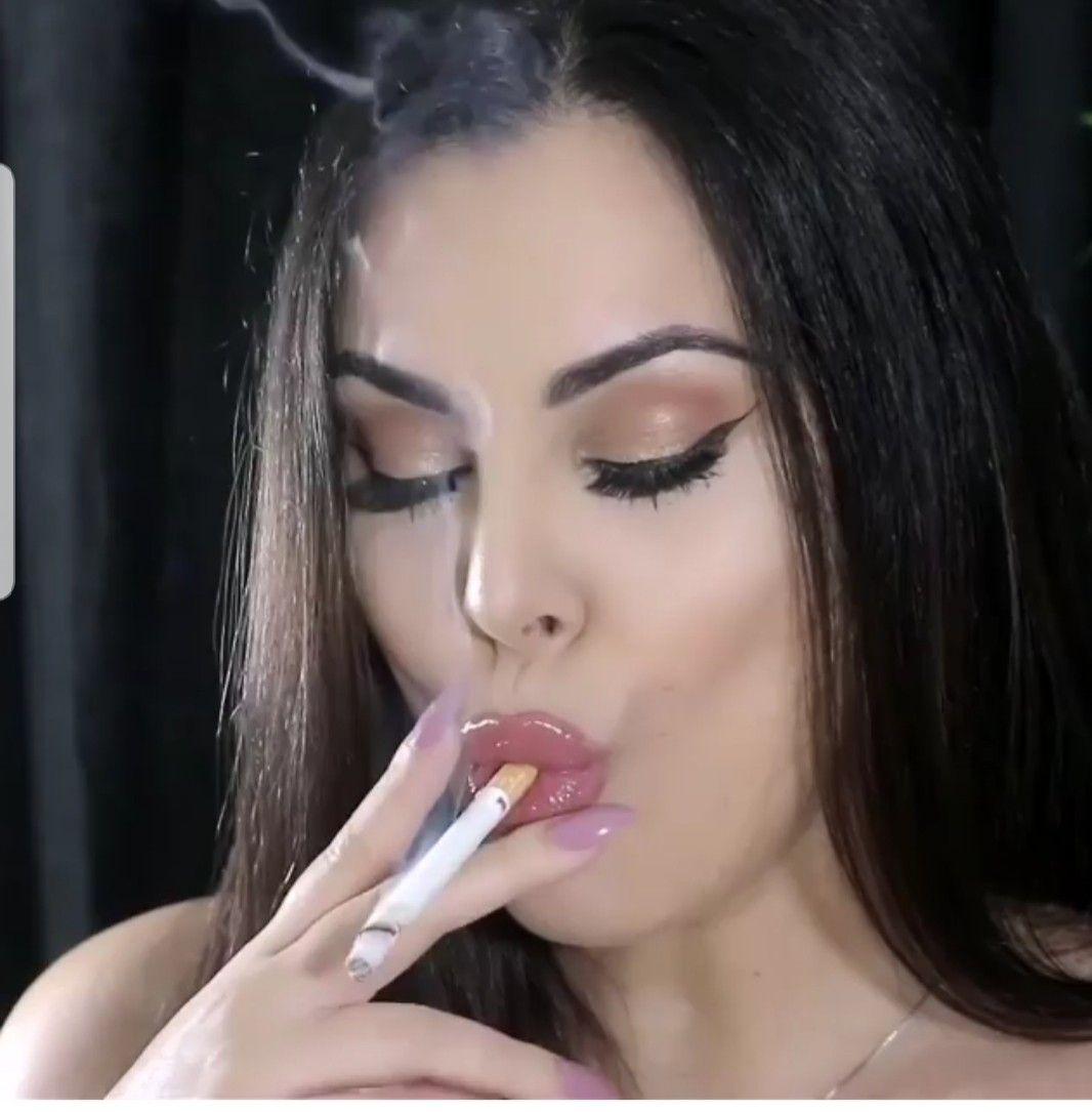 Pin On Red Lips Smoking