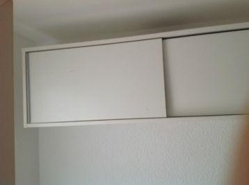 Ongekend ≥ Handig hangkastje / bovenkast met schuifdeuren - Keuken OJ-65