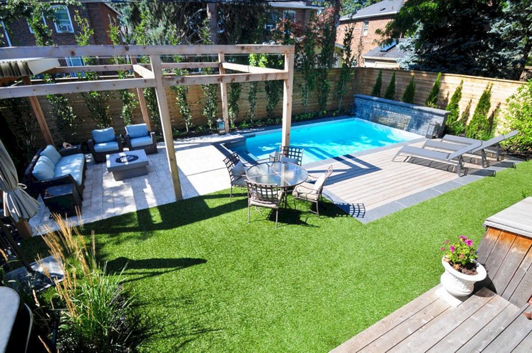 12+ Marvelous Small Backyard Pool Ideas For your Relaxing Place