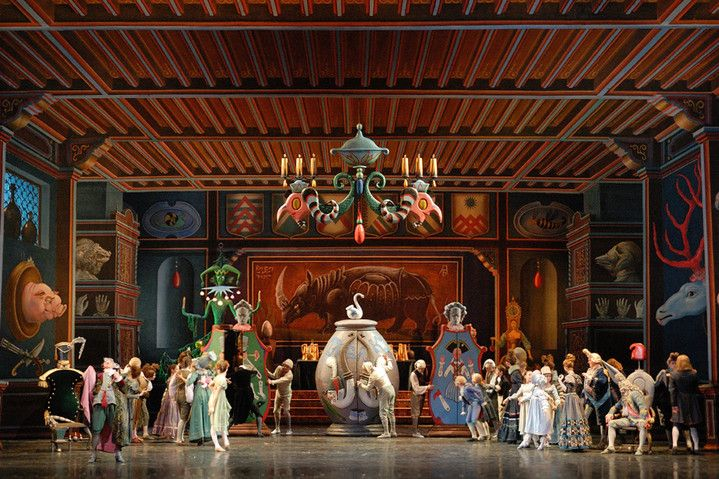 The Exhibition The Nutcracker Will Be Held At The All Russian Museum Of Decorative Applied And Folk Art Museum Scenic Design Stage Design Stage Set