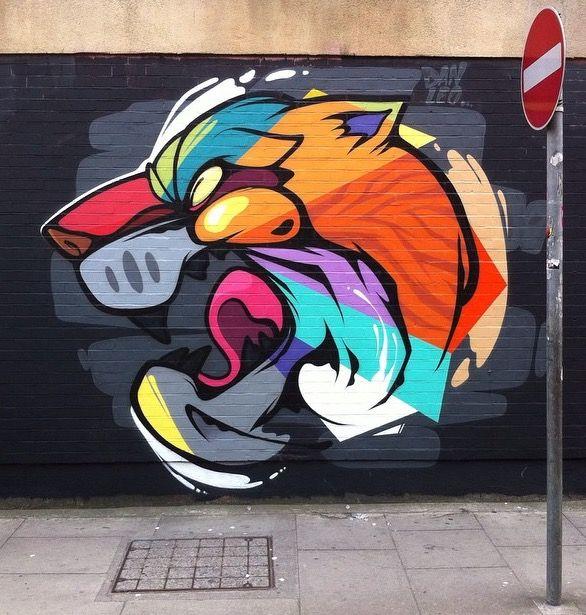 By Dan Leo In Dublin Urban Art Grafite Mural Graffiti Street