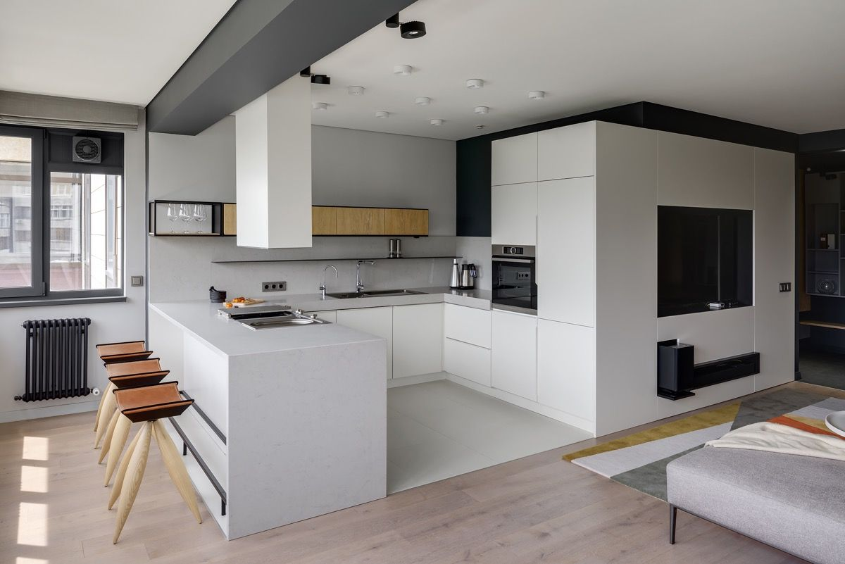 5 Unique U-Shaped Kitchens And Tips You Can Use From Them  U