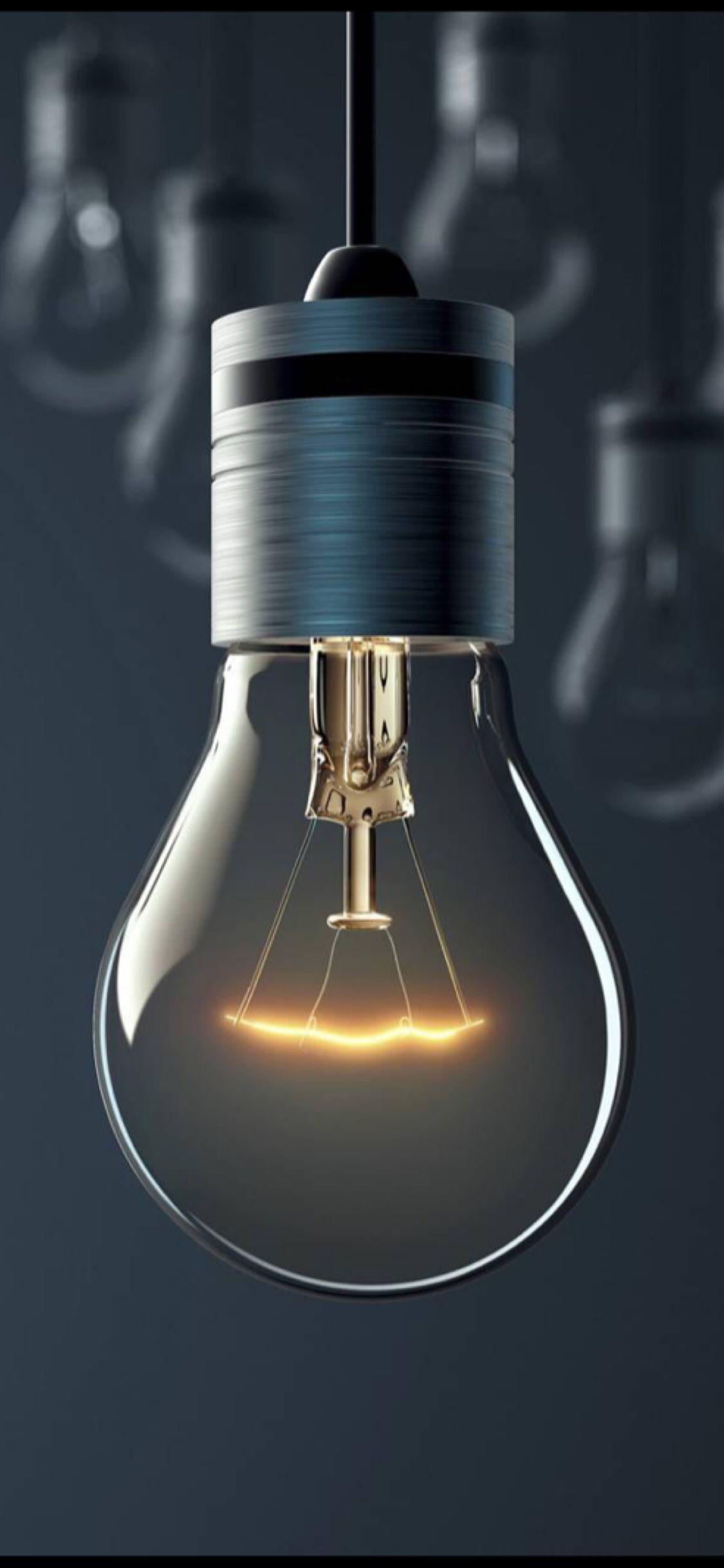 A bulb of light | Zollotech Wallpaper | Iphone wallpaper, Hd