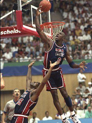 Michael Jordan Juegos Olimpicos Barcelona 1992 Michael Air