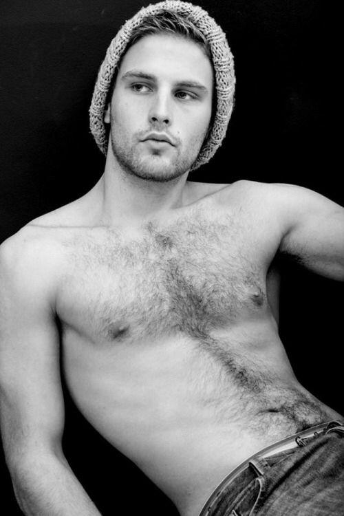 Naked shaved erect men
