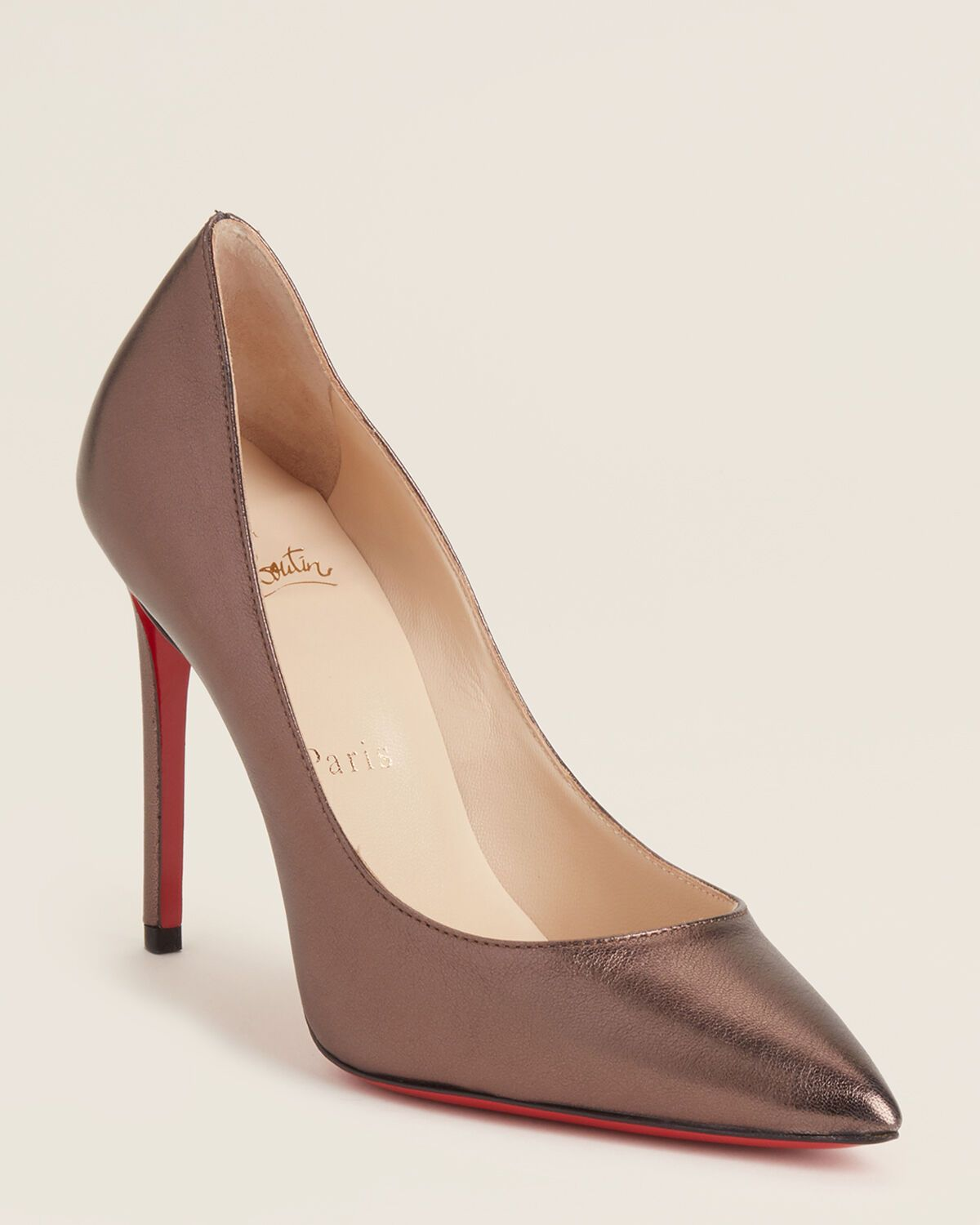 Smog Pigalle Pointed Toe Metallic Pumps