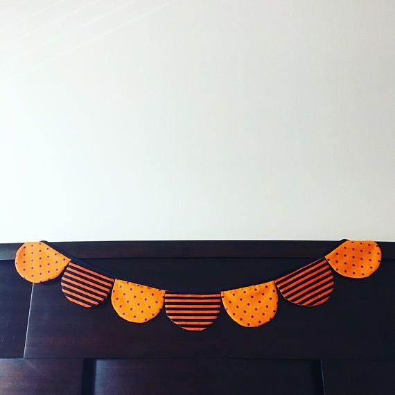 Halloween Bunting! Orange Halloween Decor ~ Halloween Party ~ Party
