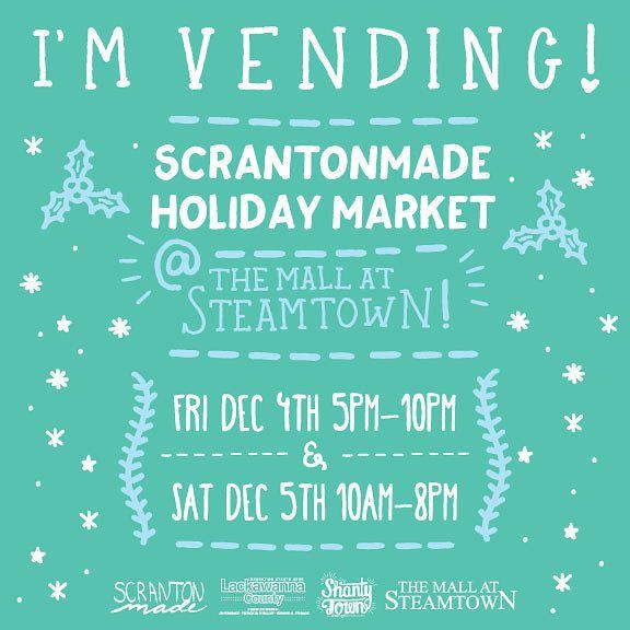 If you are in the Scranton area come on out to the best place to buy gifts for friends family or yourself! #nepa #handmade #vendors #scrantonmade #instagood #instalike #follow #followme #like #bespoke #PA #pennsylvania #ilovescranton #awesome #woodworking #woodwork #productdesign #design #3dprinted #3dprinting #3dprint by cole_hastings