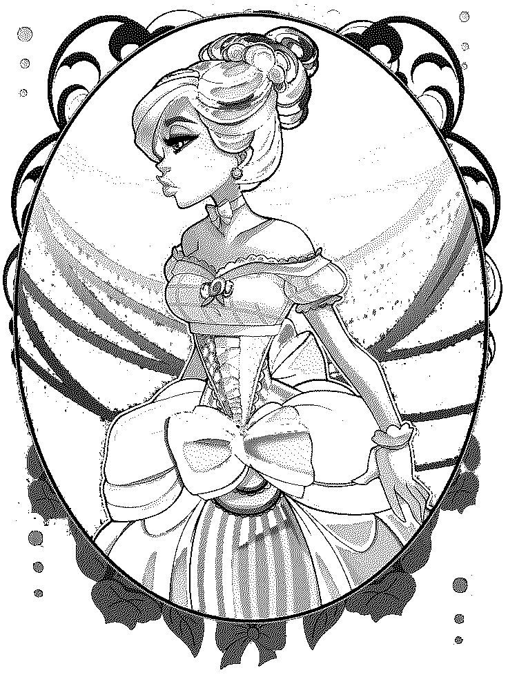 Ever After High Lily Bo Peep Coloring Page | Ever After High Lily Bo ...