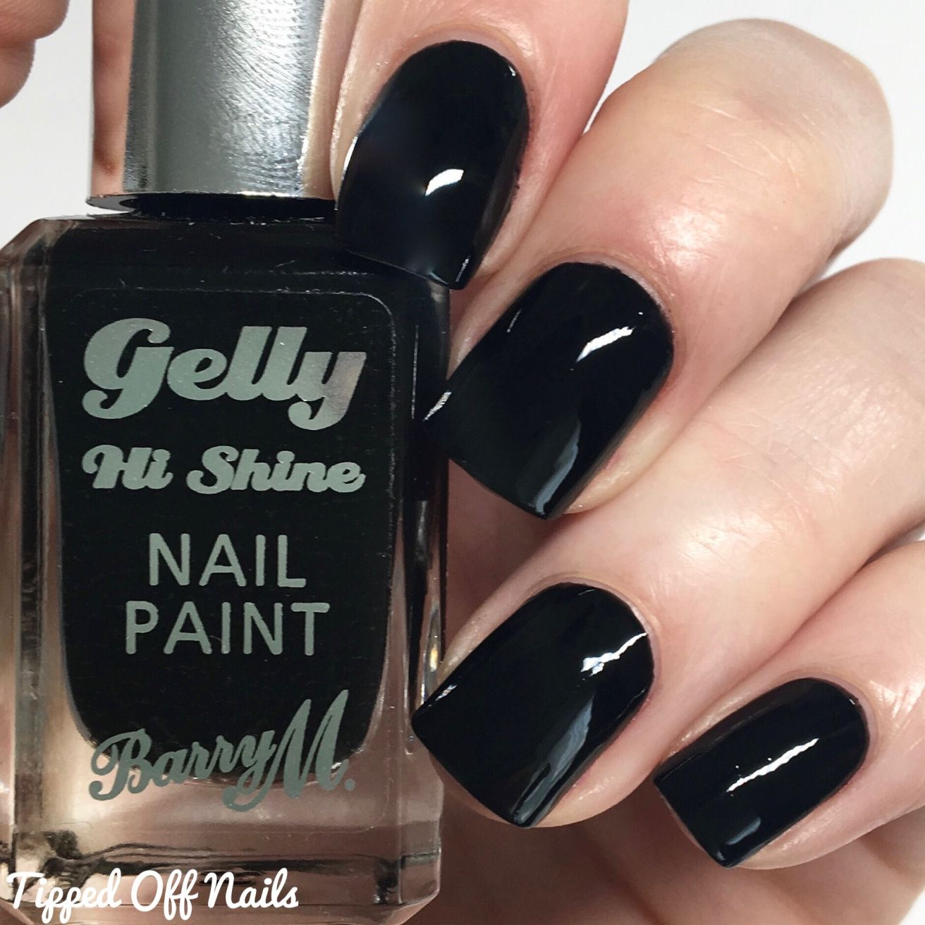 Black Nail Polish Swatch: Barry M Boots & Superdrug Limited Editions 2016 + Black