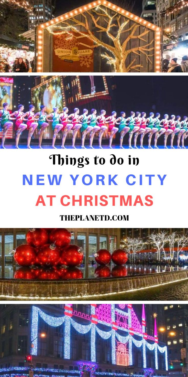 Christmas in New York 2019 - 14 Best Things to do in NYC ...