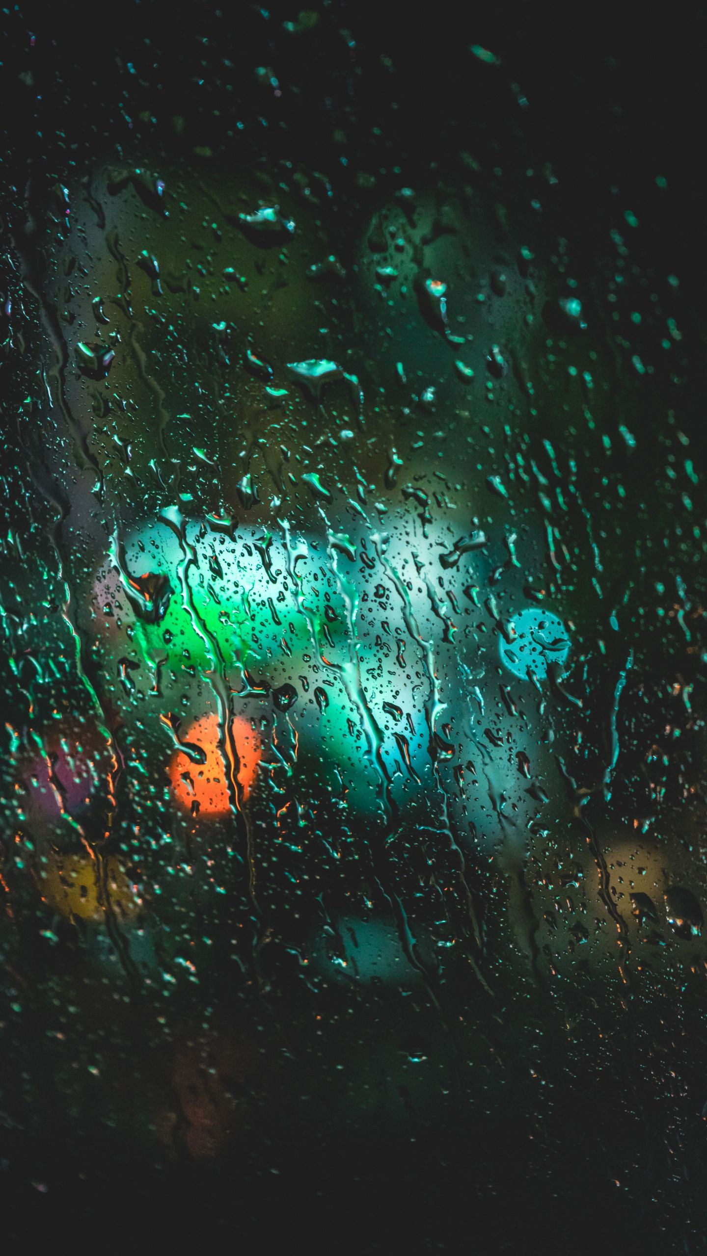 440x2560 Drops Wet Glass Surface Wallpaper Rain Wallpapers Wallpaper Wallpaper Free Download