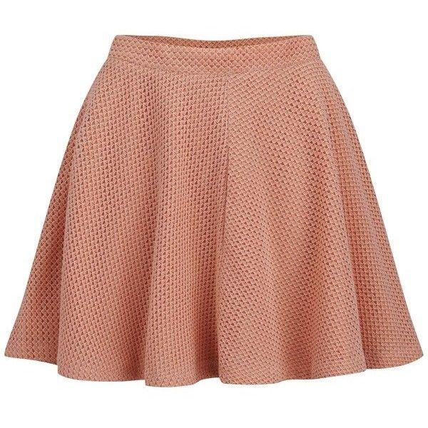 60703a0251 Paul & Joe Sister Women's Amulette Skirt ($89) ❤ liked on Polyvore  featuring skirts, pink, high waisted knee length skirt, crochet skirt,  circle skirt, ...