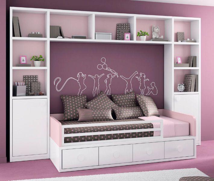 armoire pont de lit pour chambre d