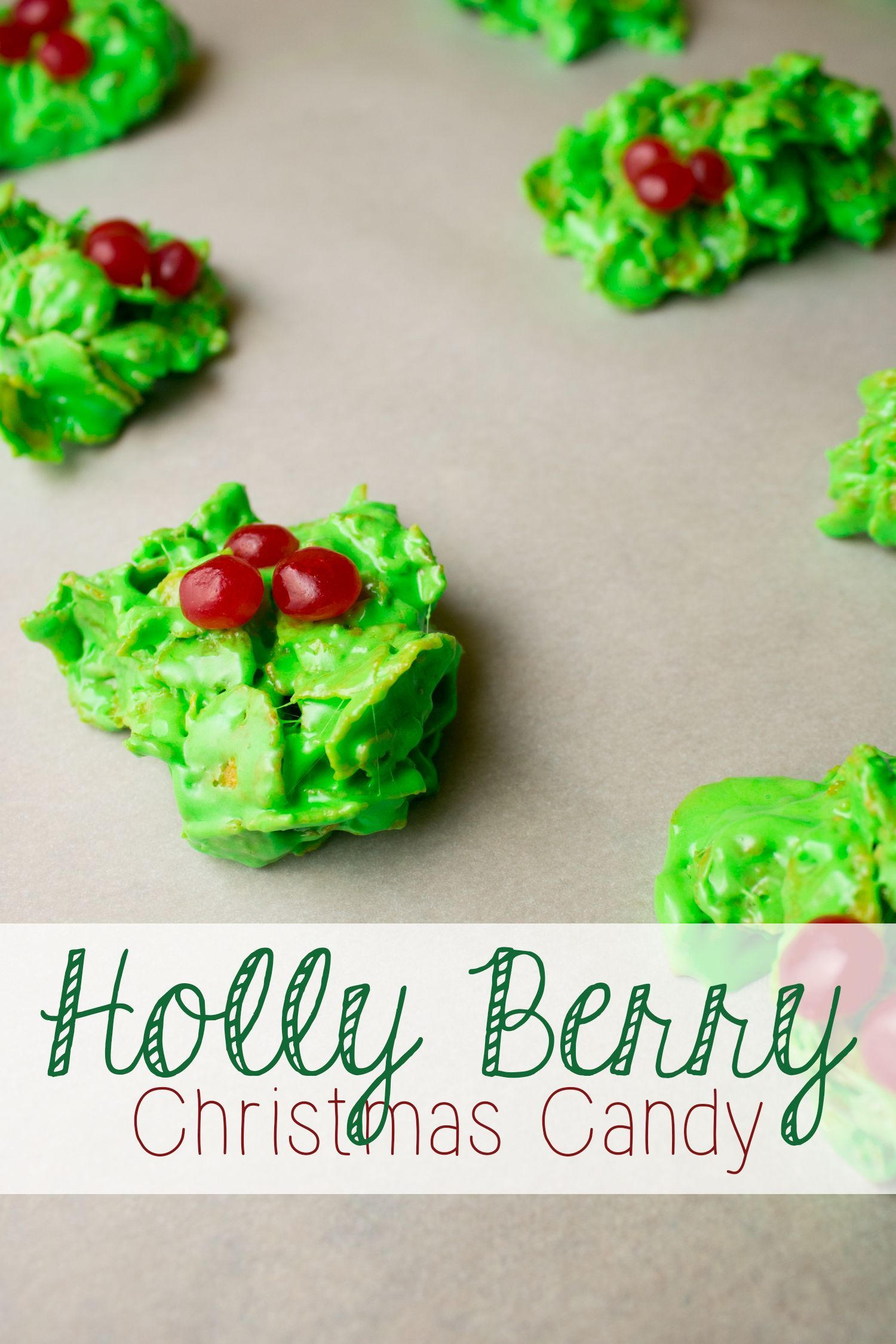 Holly Berry Candy