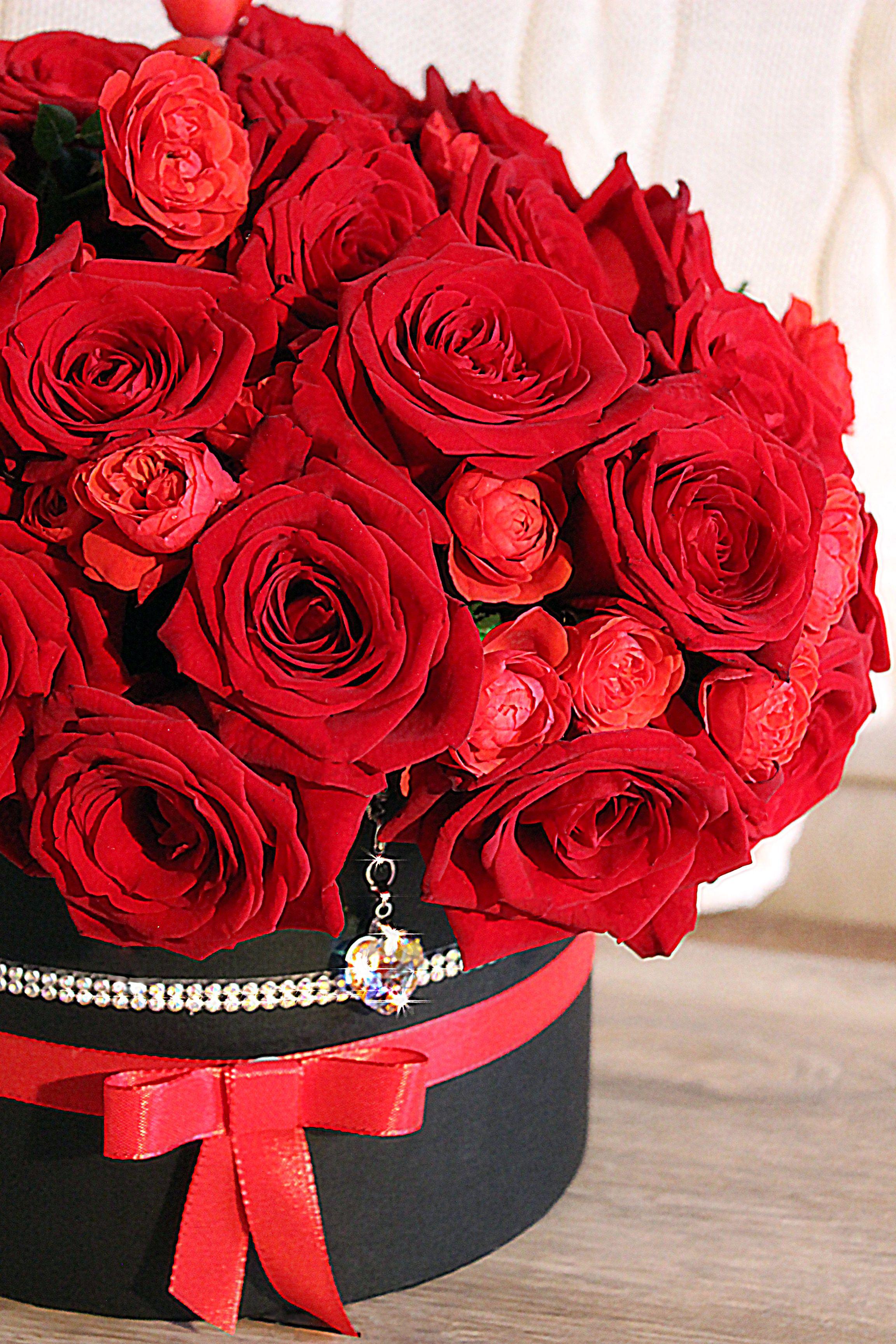Pinterest Whywhyn0t Cumpleaños Rosas Rojas Arreglos