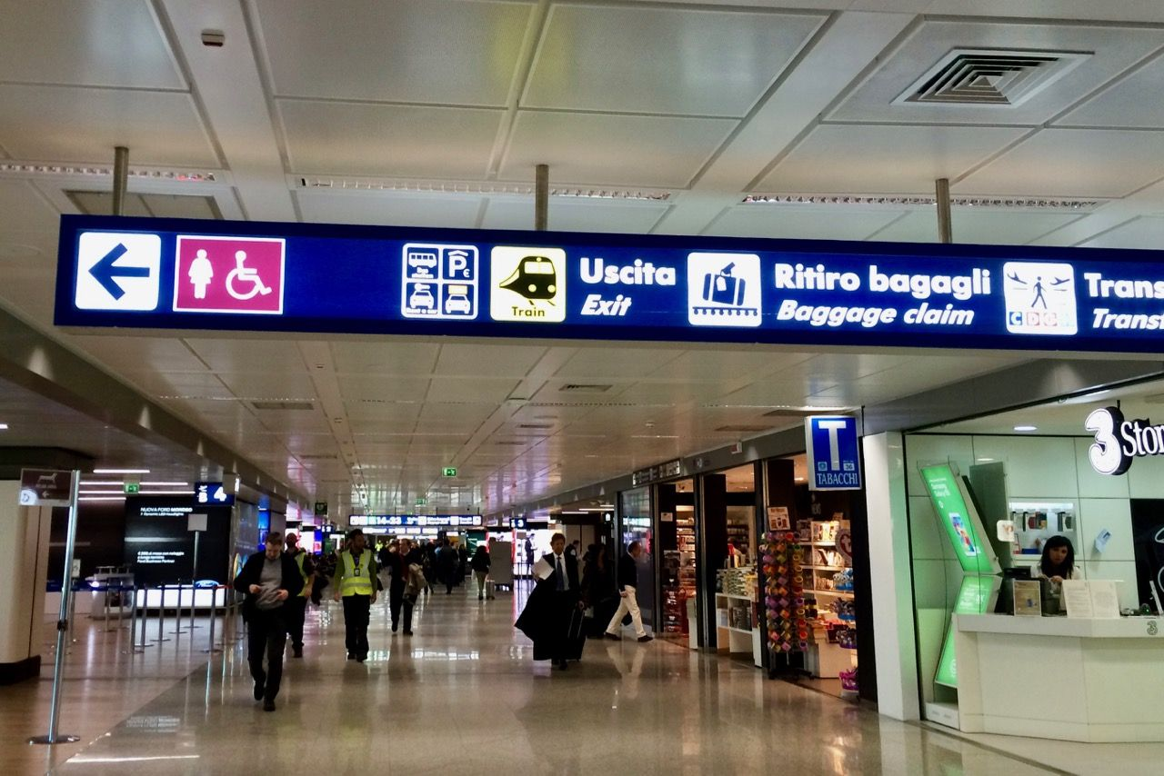 How To Get From Rome Fiumicino Airport To Rome