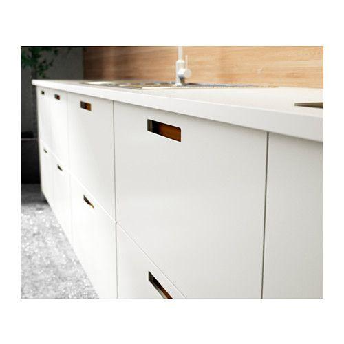 M rsta door white methods doors and met - Cuisine sans poignee ikea ...