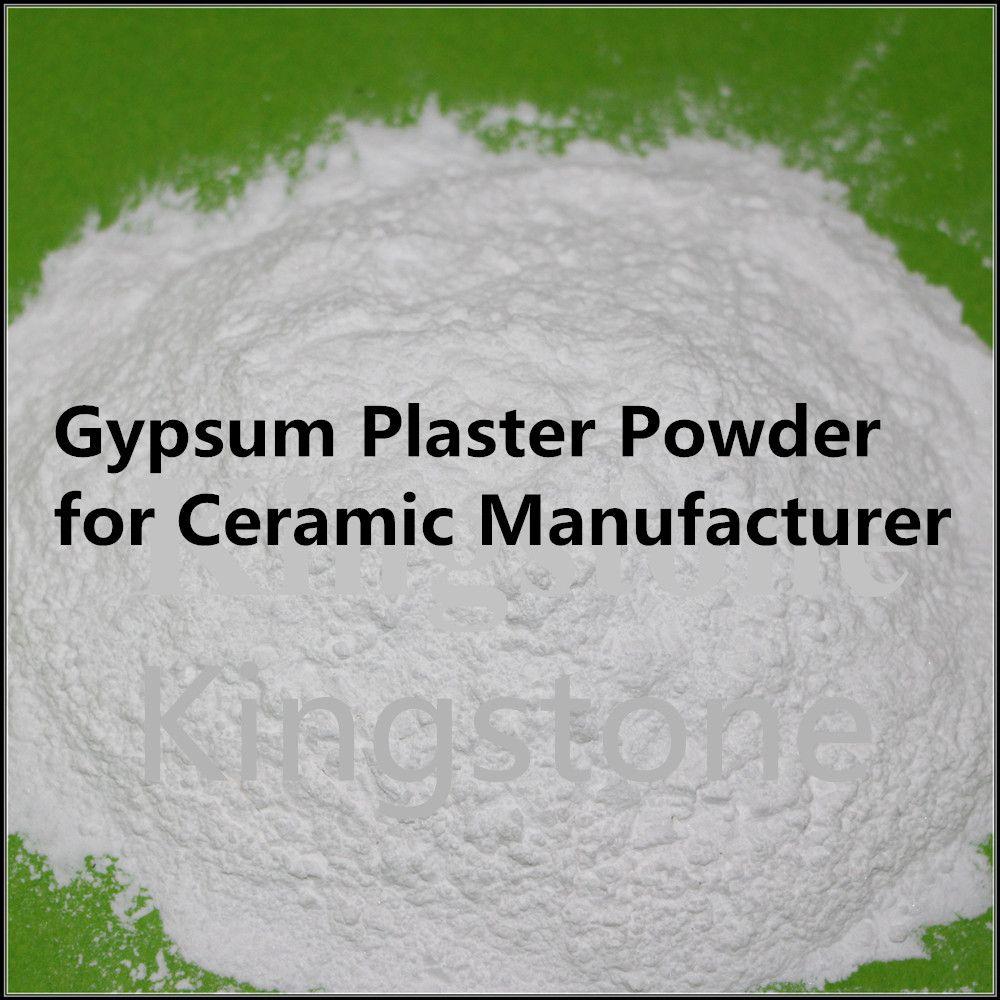 High Purity Quality Gypsum Plaster Powder For Ceramic Manufacturers View Gypsum Plaster Powder Kingstone Product Details From Jin Gypsum Gypsum Powder Powder