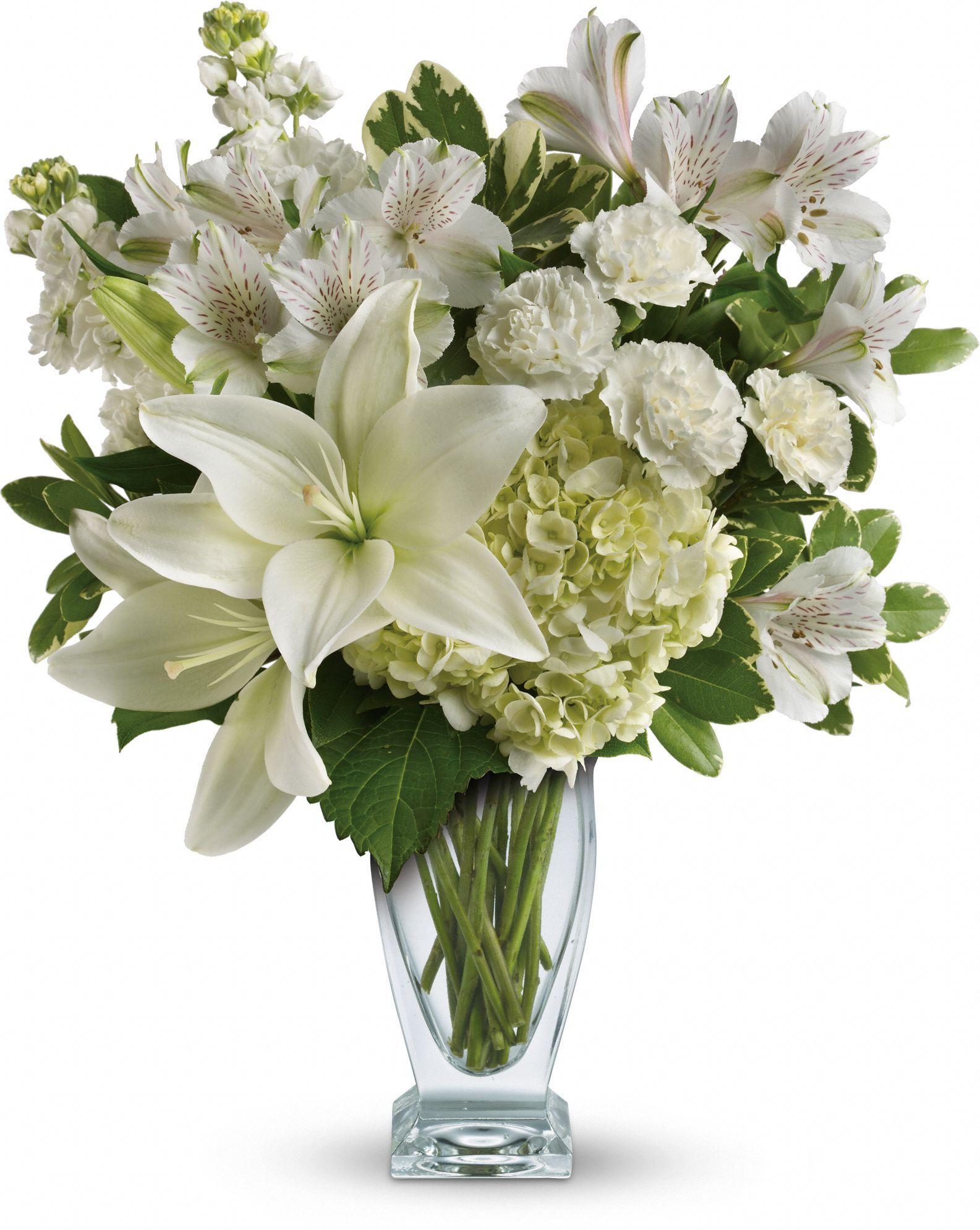 Teleflora's Purest Love Bouquet Flower delivery, Winter