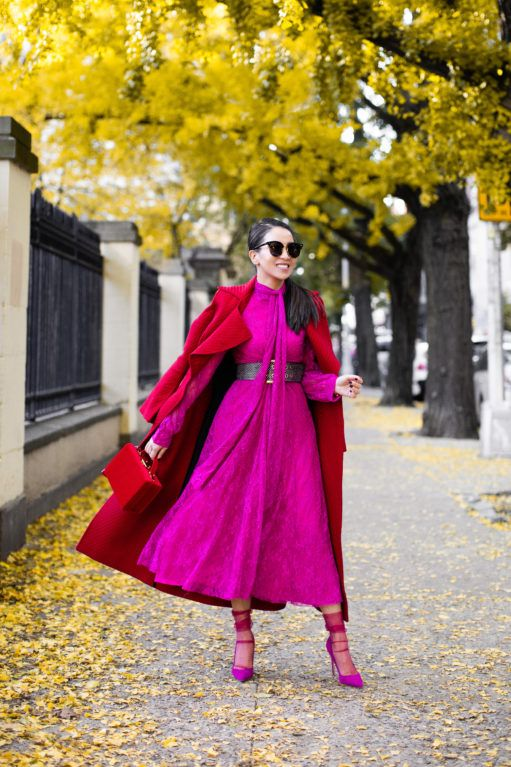 Fantastic Colors - Fall Fashion with Reds and Pinks - Wendy's Lookbook