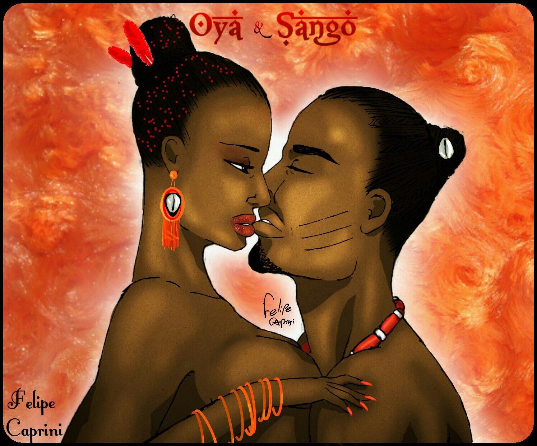 SANGO & OYA   Shango in 2019   African mythology, Oya