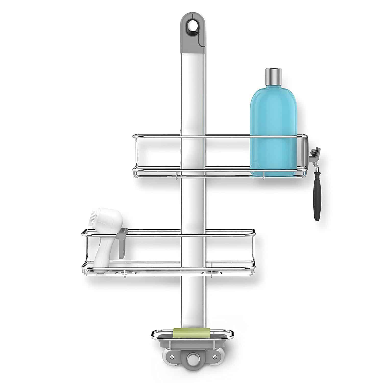 simple human Adjustable Shower Caddy | Top 10 Best Shower Caddies ...