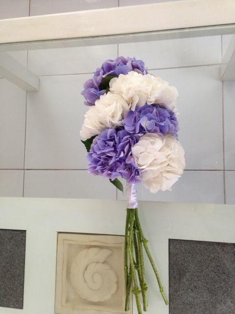 Purple & White Bouquet