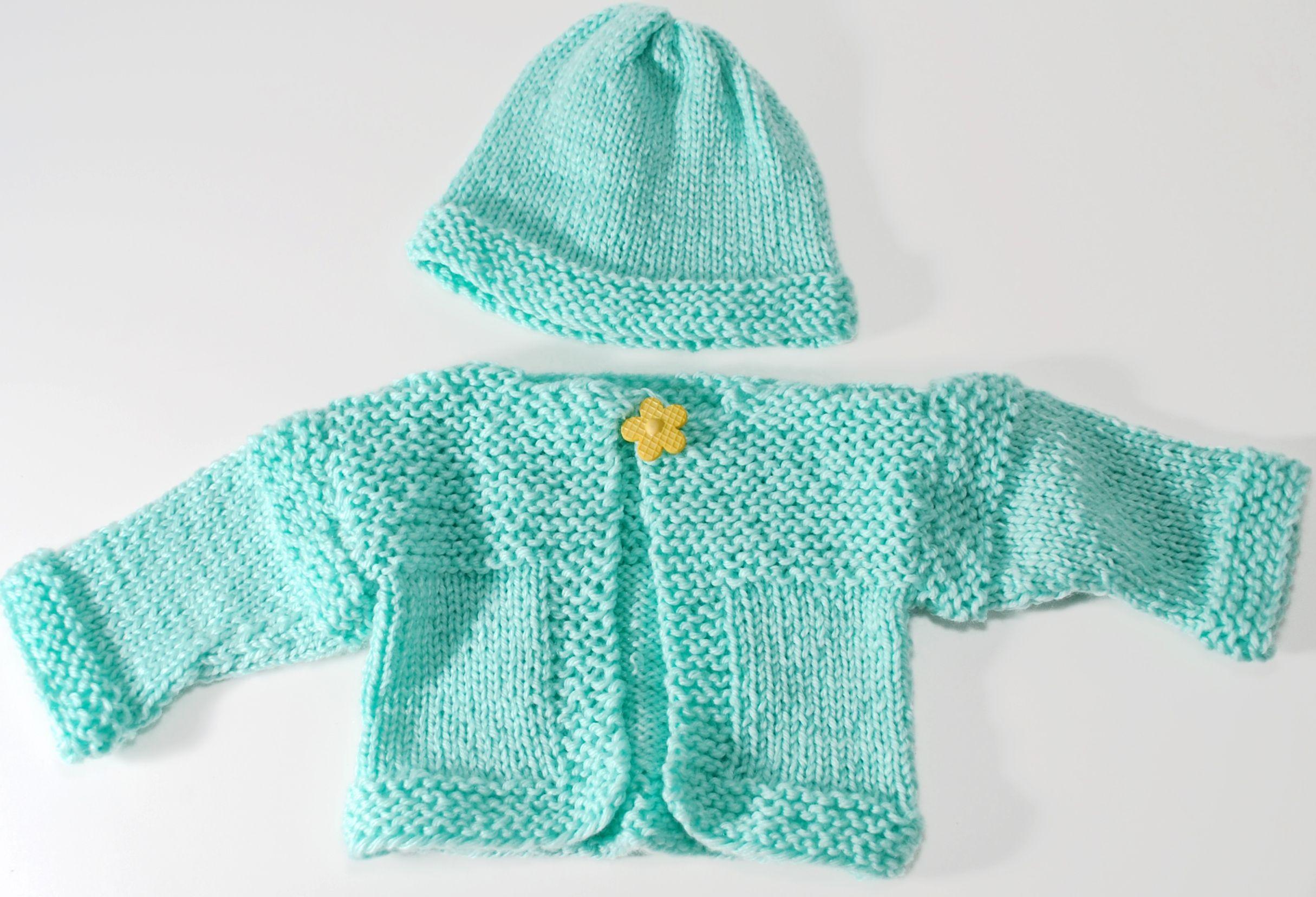 470eefad3 Simple Baby Layette Set | Looming Baby Items! | Loom knitting ...