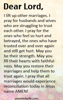 Prayer Of The Day - Trusting Your Husband Again | Prayer of