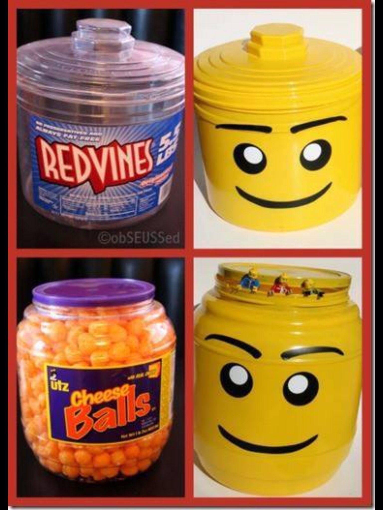 Best idea ever ,for those of you with kids who love Legos !
