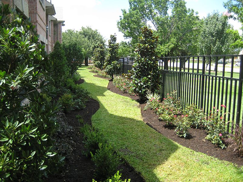 Landscaping Landscape Design Wrought Iron Fence Envy Exteriors