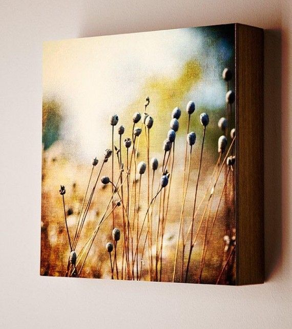 Wood Photo Block-Wall Decoration tips with Autumn Themed Wall Arts ...
