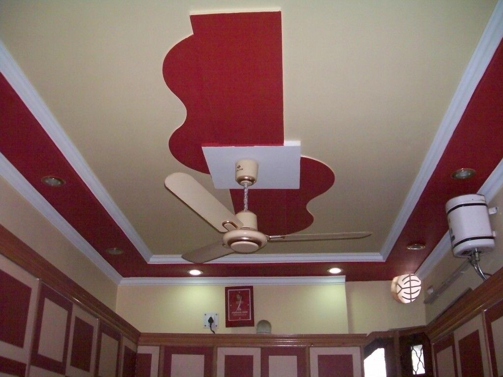 House Interior False Modern Interior Design Of Ceiling Regarding
