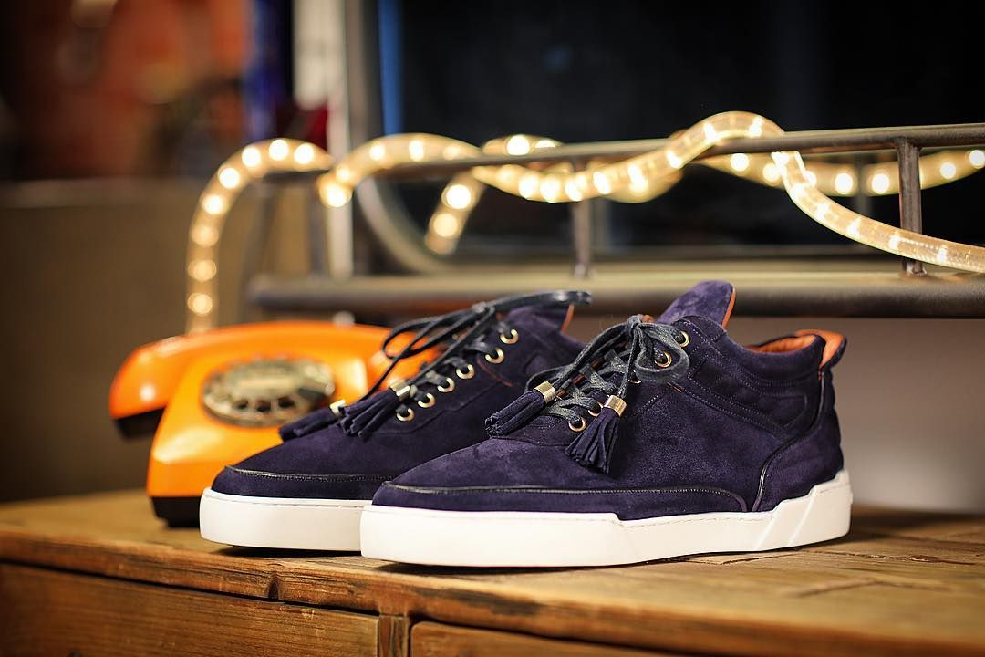 dd42c0158d BENJAMIN BERNER | BNJ MID-TOP NAVY #swiss#genuineleather #handcrafted  #luxury #sneakers #zurich🇨🇭 #switzerland🇨🇭 #navyblue