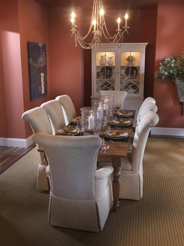 Romantic Rose : Bruce A. Lee : Dining Rooms : Pro Galleries : HGTV Remodels