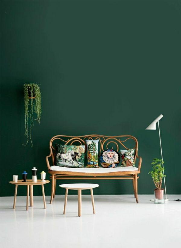 wandfarben bilder dunkel gr ne wandfarbe wandfarbe pinterest green painted walls dark. Black Bedroom Furniture Sets. Home Design Ideas