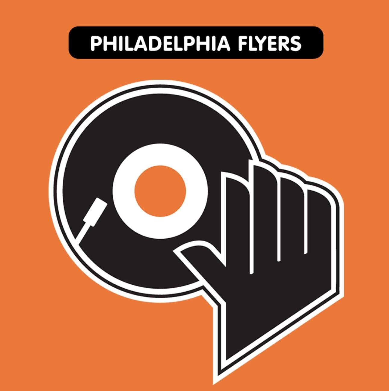 Philadelphia Flyers Nhl logos, Sports team logos, Logos