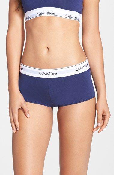 calvin klein boy shorts for girls