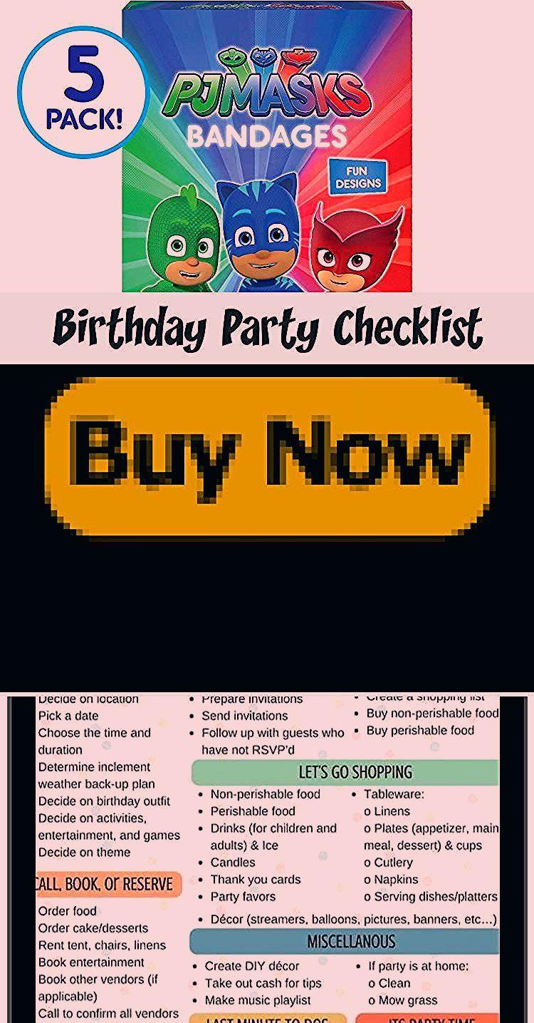 Photo of Birthday Party Checklist – Gender Neutral