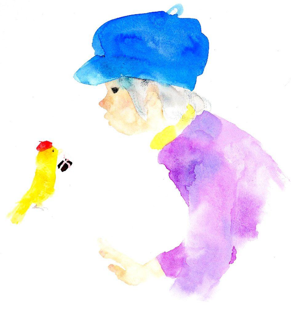 いわさきちひろ Chihiro Iwasaki Illustration Artartwatercolor