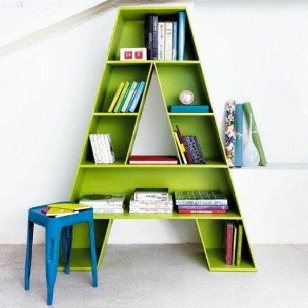 original vert enfants bibliothque - Etagere Enfant Deco