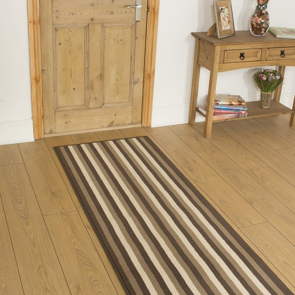 Best Broad 2 Brown Runner With Images Hallway Carpet 400 x 300