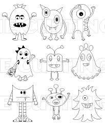 Resultat De Recherche D Images Pour Coloriage De Monstre Rigolo A Imprimer Coloriage Monstre Coloriage Halloween Coloriage