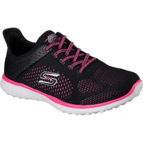 Skechers Women's Microburst Supersonic Slip On Sneaker, Size