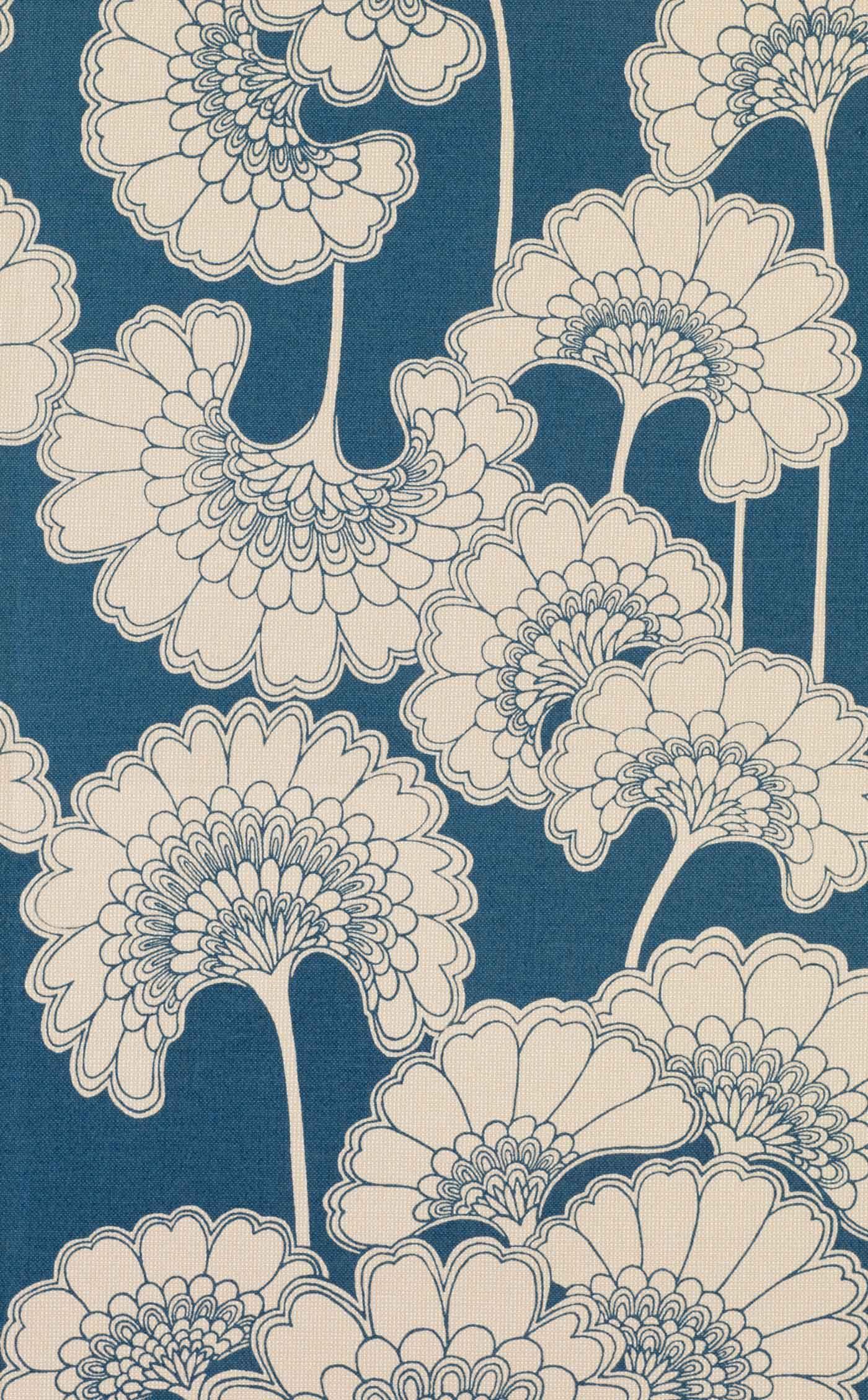 Florence Broadhurst Japanese Floral Wallpaper Floral Wallpaper