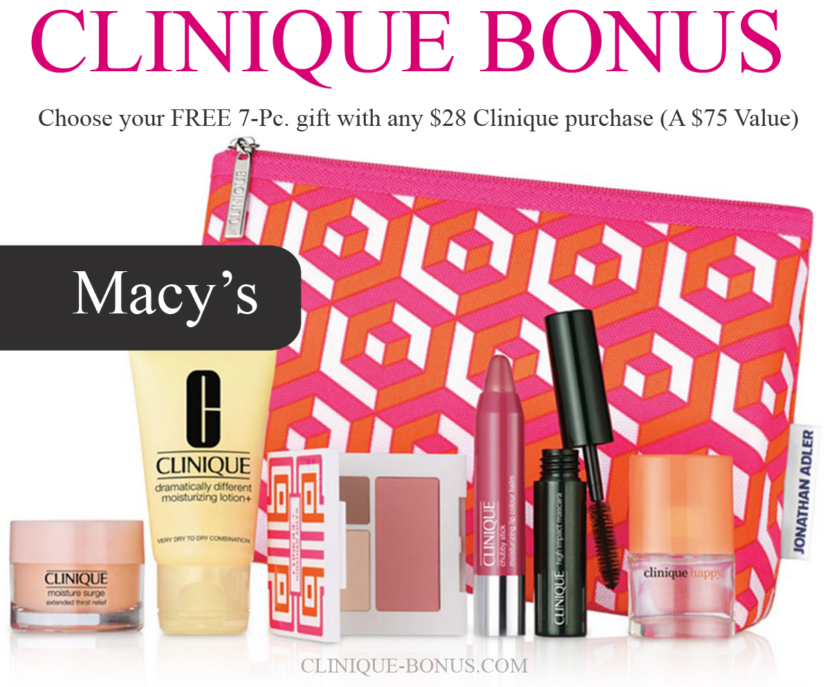 Fall Clinique Bonus At Macy S Is Here September October 2017
