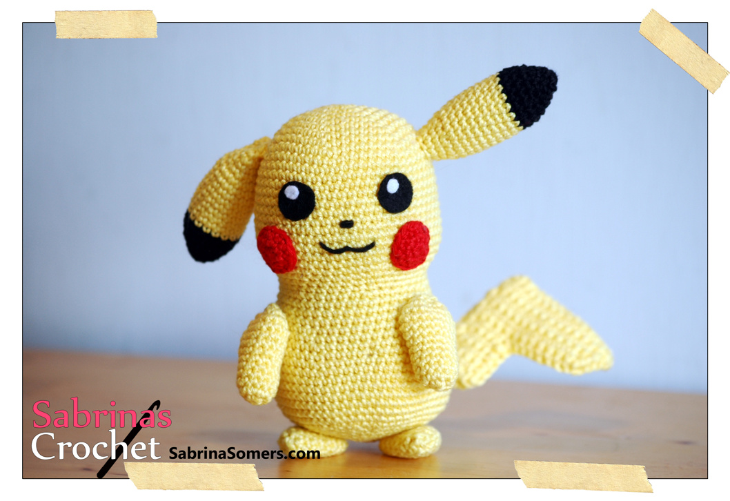 Pikachu Pokemon Free Amigurumi Pattern | Crochet other | Pinterest ...