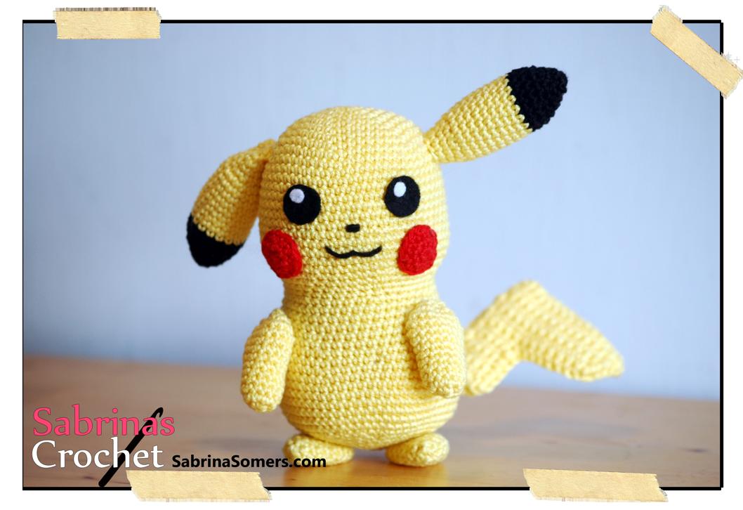 Pikachu Pokemon Free Amigurumi Pattern | amigurumi ...
